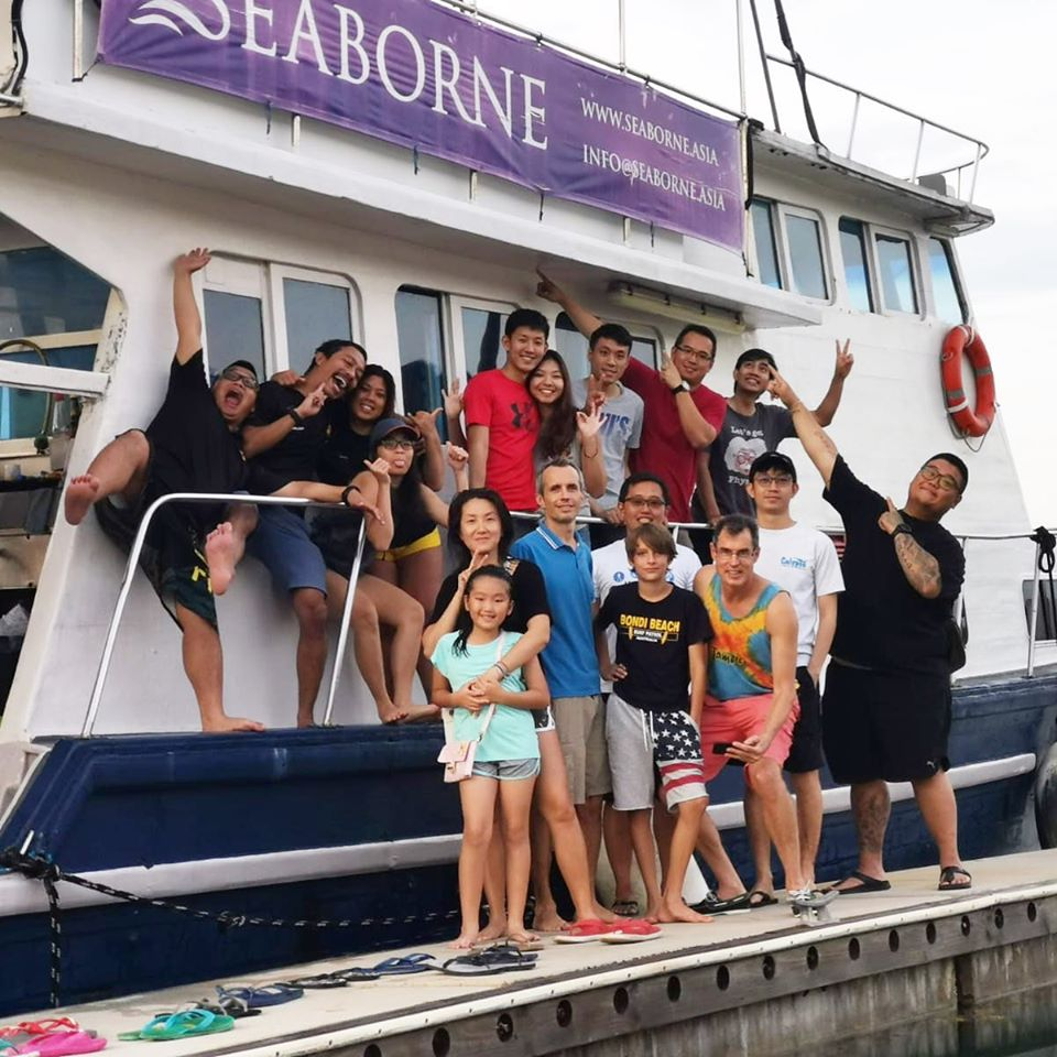 Scuba Diving Bintan Island